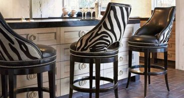 Ambella Home Zebrano Swivel Barstool Ah 03534 510 001 throughout Zebra Bar Stools
