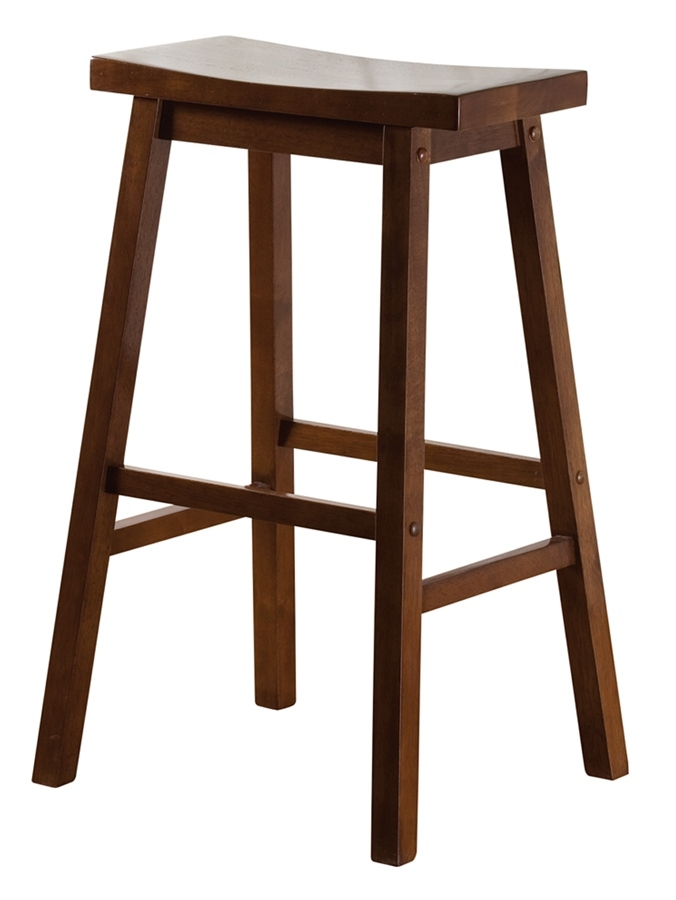 American Heritage Billiards 130802wa Wood Saddle Bar Stool with regard to Saddle Bar Stool