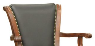 American Heritage Napoli Bar Stool In Brandy With Leather pertaining to American Heritage Bar Stools