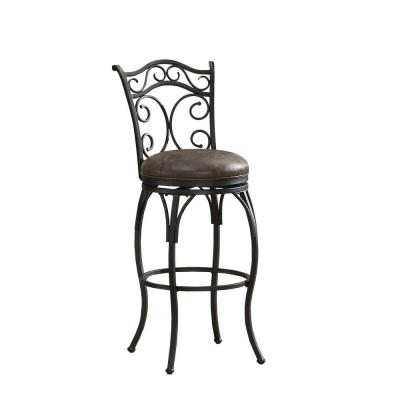 American Heritage Solana 30 In Bar Stool In Graphite 111129 The intended for American Heritage Bar Stools