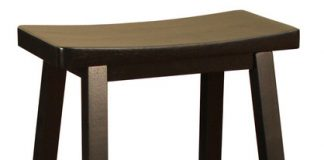 American Heritage Wood Saddle Stool In Black Traditional Bar throughout 26 inch bar stools with regard to Fantasy