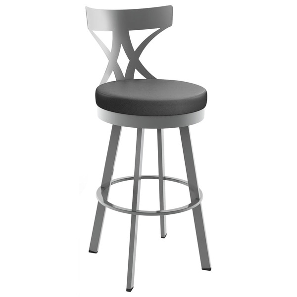 Amisco Washington 26 Inch Metal Swivel Counter Stool 16788925 with regard to metal swivel bar stools pertaining to  Residence