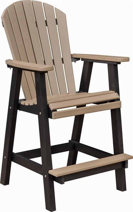 Amish Made Outdoor Bar Stools From Dutchcrafters Amish Furniture with regard to Outdoor Bar Stools With Backs