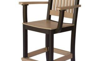 Amish Made Polywood Mission Bar Stools From Dutchcrafters Amish pertaining to Polywood Bar Stools
