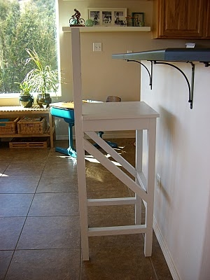 Ana White Extra Tall Bar Stool Diy Projects in Extra High Bar Stools
