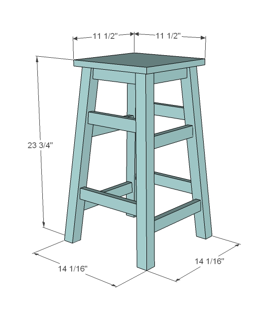 How To Make Bar Stools inside Bar Stool Plans