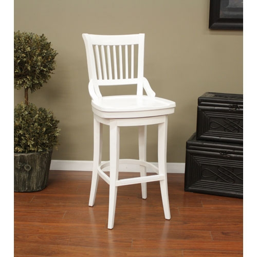 Antique White Wood Bar Stools Bellacor with White Wood Bar Stools