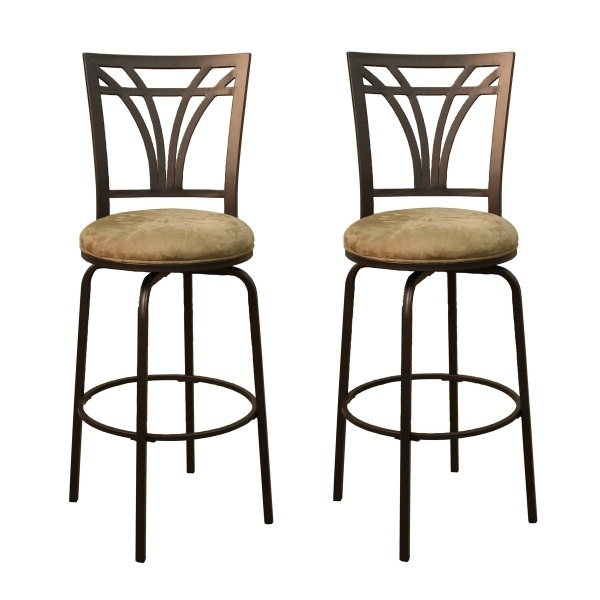 Arbor Set Of 2 Bar Stools American Heritage for Bar Stool Sets Of 2