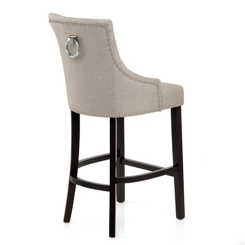 Ascot Bar Stool Tweed Fabric Atlantic Shopping intended for The Most Incredible and Interesting fabric bar stools for Household