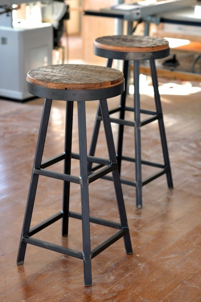 Asense 30 Inch Mashed Metal Counter Bar Stool Four Legged Backless inside 24 Inch Backless Bar Stools