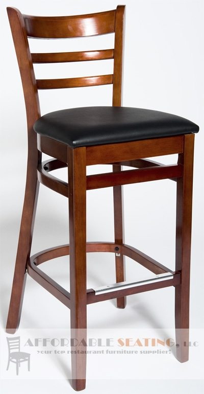 Asf 5050bs Ladder Back Wood Bar Stool inside cheap wooden bar stools pertaining to House