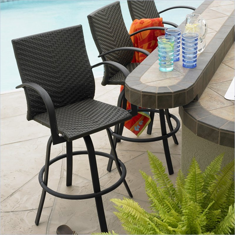 Attractive Outdoor Bar Furniture Design Remodeling Amp Decorating regarding outdoor patio bar stools for Dream