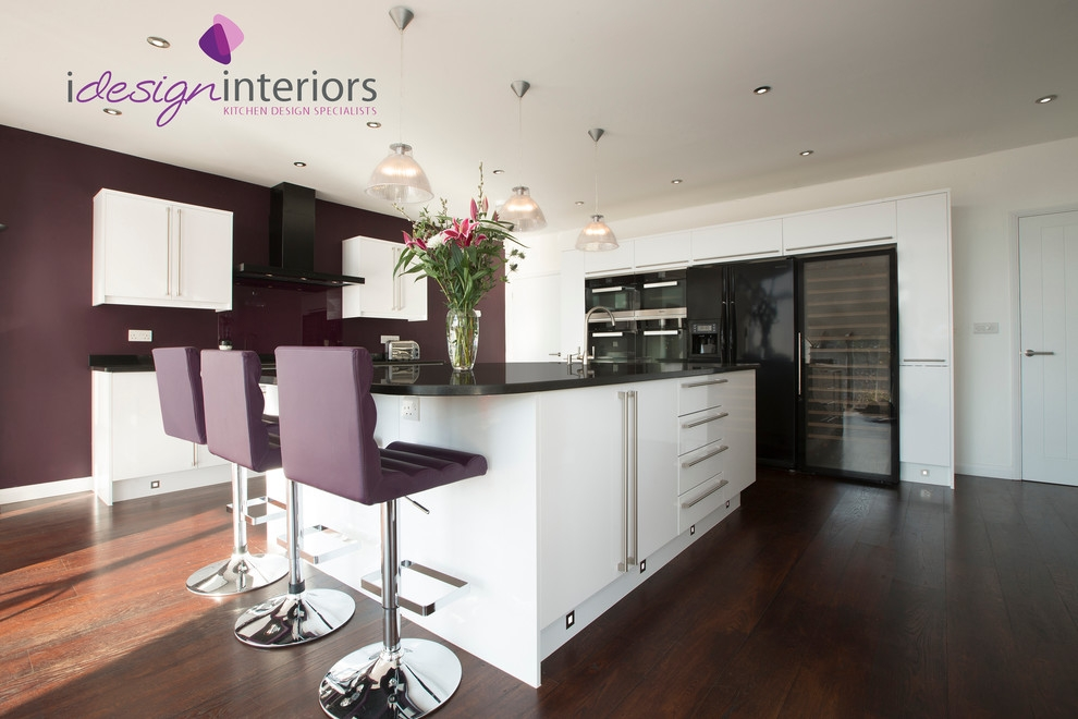 Aubergine Color Contemporary Spaces Decorating Ideas South West for aubergine bar stool with regard to Comfortable