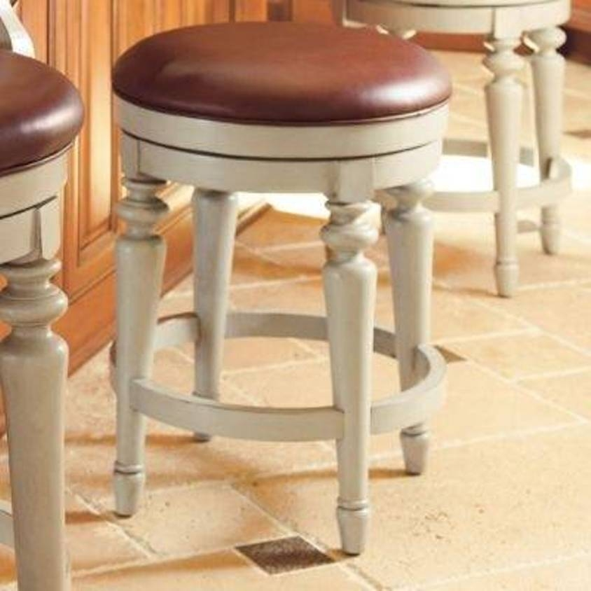 Backless Bar Stools With Leather Seats And Wooden Legs Popular with regard to Wooden Backless Bar Stools