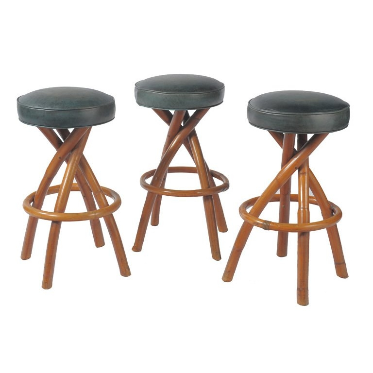 Bamboo Bar Stools At 1stdibs for bamboo bar stools regarding  Home