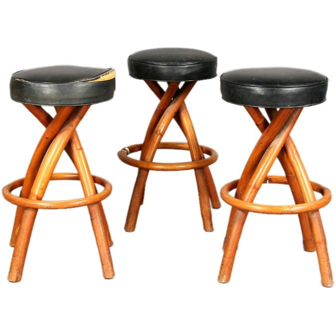 Bamboo Bar Stools At 1stdibs intended for bamboo bar stools regarding  Home