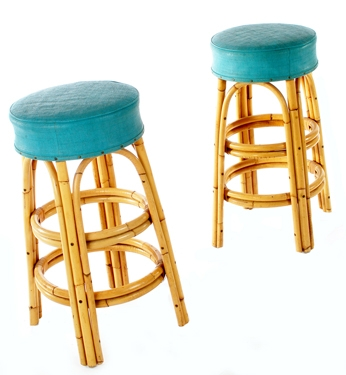 Bamboo Tiki Modern Bar Stools for Bamboo Bar Stools