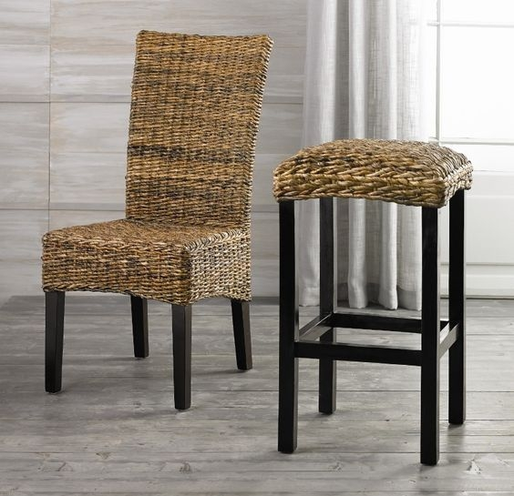 Banana Leaves Bar Stools And Stools On Pinterest intended for Banana Leaf Bar Stools