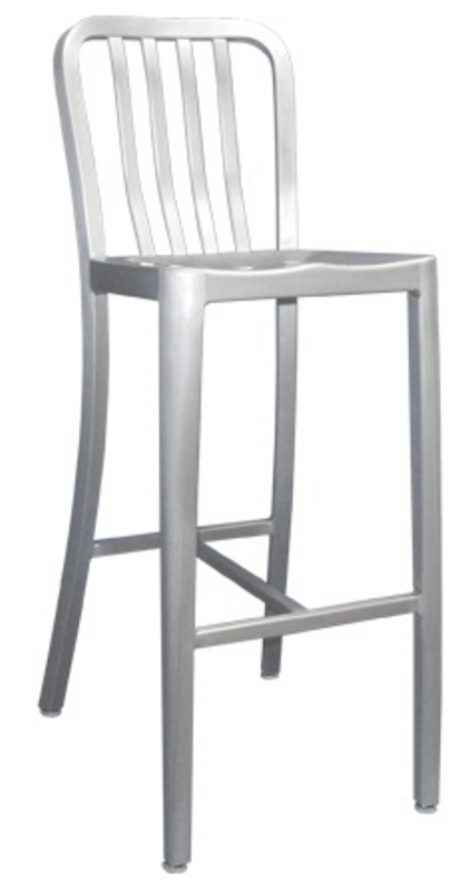 Bar Stool Bill Offers Aluminum Outdoor Slat Back Bar Stools From with The Most Elegant  outdoor bar stools with backs intended for Existing Home