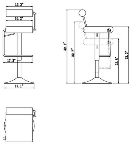 Bar Stool New 372 Counter Height Bar Stool With Back for Stylish  height of bar stools intended for Wish