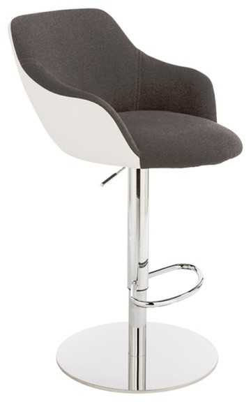 Bar Stools And Counter Stools intended for Black And White Bar Stools