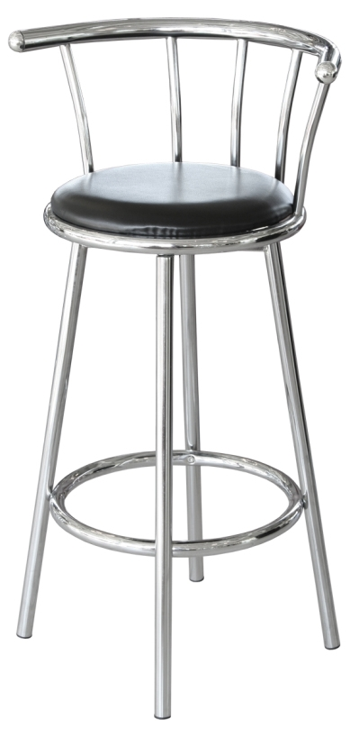 Bar Stools And Tables The Look intended for Chrome Swivel Bar Stools