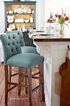 Bar Stools For Kitchen Islands Foter intended for Fancy Bar Stools