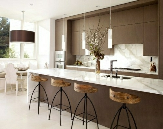Bar Stools In The Modern Kitchen Decorative Furniture Pieces in Brilliant  breakfast bar stools pertaining to The house