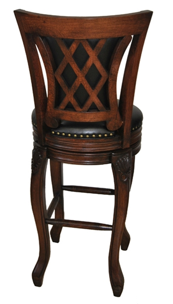 Bar Stools Solid Wood Swivel Stool Tango Special throughout Tobias Bar Stools