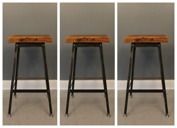 Bar Stools Stools And Bar On Pinterest with regard to 3 Bar Stools