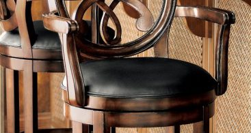 Bar Stools Stools And Bar On Pinterest within Leather Bar Stools With Backs That Swivel