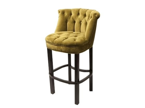 Bar Stools Stools And Velvet On Pinterest with Amazing  tufted bar stool for House