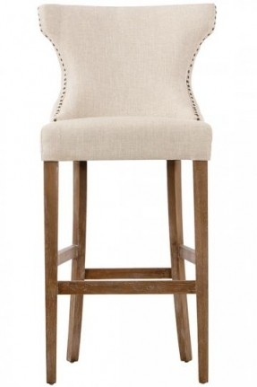 Bar Stools Upholstered Bar Foter with regard to Tufted Bar Stool