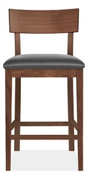Bar Stools Upholstered Counter Foter with room and board bar stools intended for Property