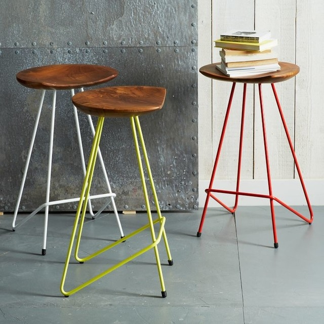 Bar Stools Wood And Metal 03 Stools G Gladiator Silver Framed regarding Colored Bar Stools