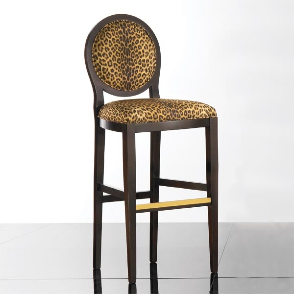 Bar Stools Wood Bar Stools And Wood Bars On Pinterest in Animal Print Bar Stools