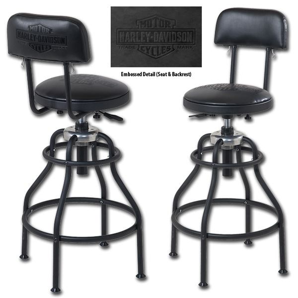 Barnett Harley Davidson Home Decor Indoor Furniture Bar Stools within Awesome in addition to Gorgeous harley bar stools regarding Home