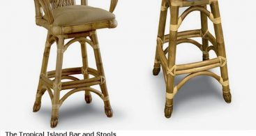 Bars From Rattan Interiors Barnegat New Jersey with Tropical Bar Stools