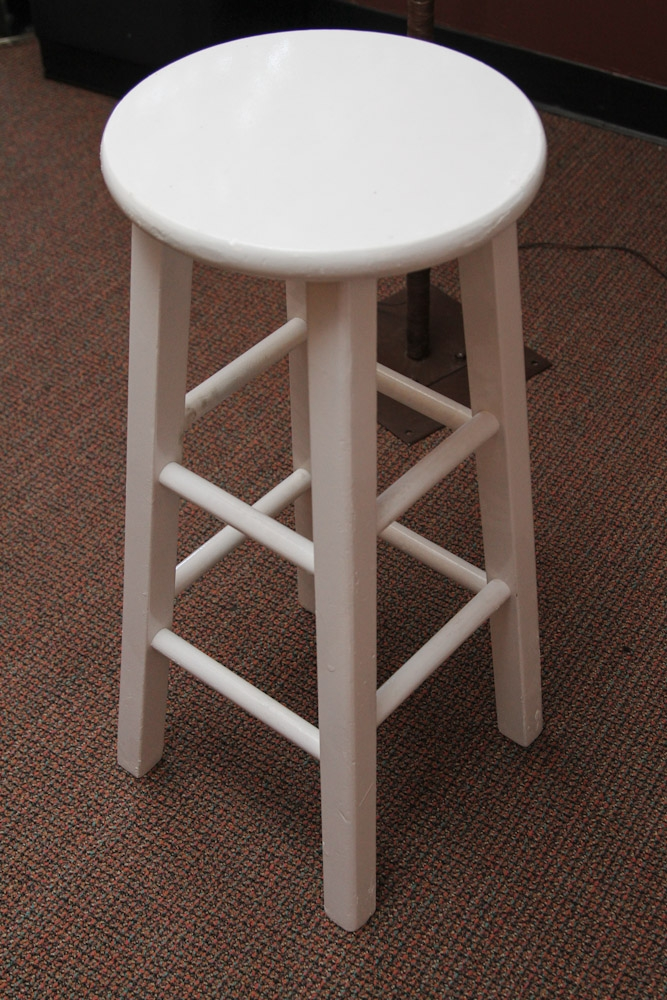 Barstool White Wooden A1 Party in white wood bar stools regarding Inviting