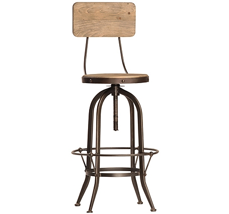 Barstools Sacred Space Imports for Adjustable Bar Stools With Backs