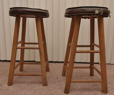 Barstools with old bar stools pertaining to Found Property