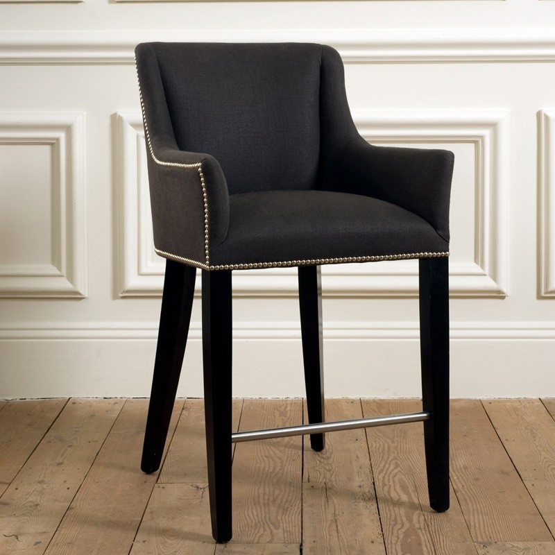 Beaumont Amp Fletcher Kingsley Bar Stool Uf99 Luxury Furniture throughout Luxury Bar Stools