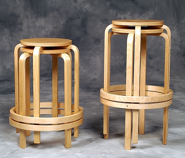 Bentwood Stackable Counter Stool Ijinshare regarding Stylish in addition to Beautiful stackable bar stools intended for Property