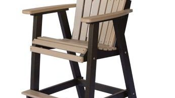 Berlin Gardens Comfo Back Outdoor Poly Bar Stool From Dutchcrafters inside Polywood Bar Stools