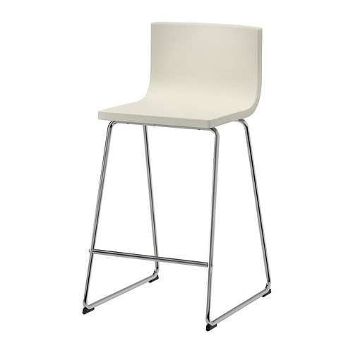 Bernhard Bar Stool With Backrest Ikea inside Outdoor Bar Stools Ikea