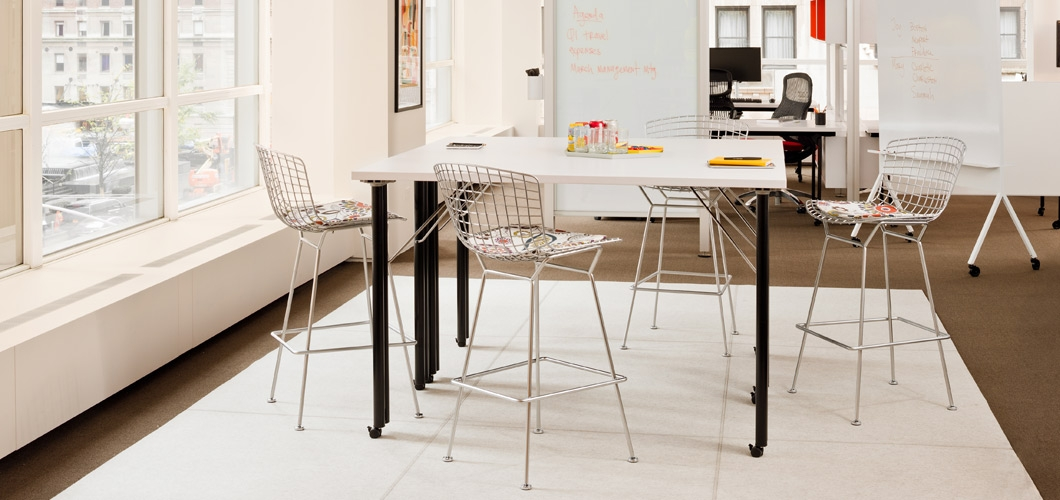Bertoia Barstool Knoll pertaining to Knoll Bertoia Bar Stool