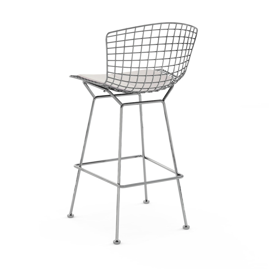Bertoia Barstool Knoll within Knoll Bertoia Bar Stool