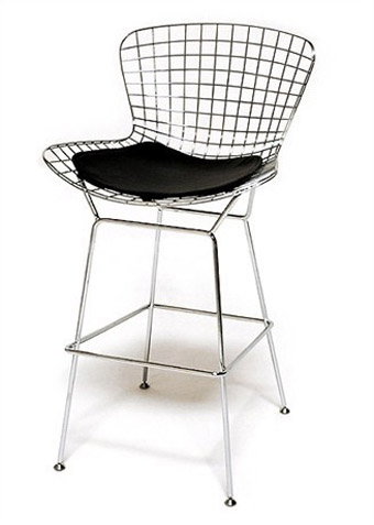 Bertoia Wire Bar Stool throughout Amazing  wire bar stools regarding Wish