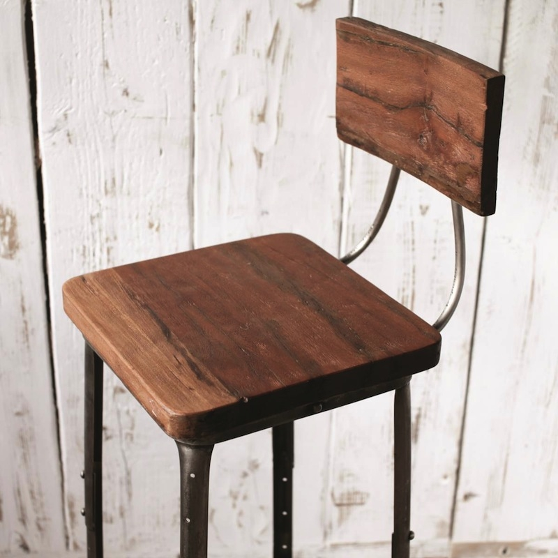 Best Industrial Bar Stools With Backs Contemporary Design Ideas pertaining to Industrial Bar Stools With Backs