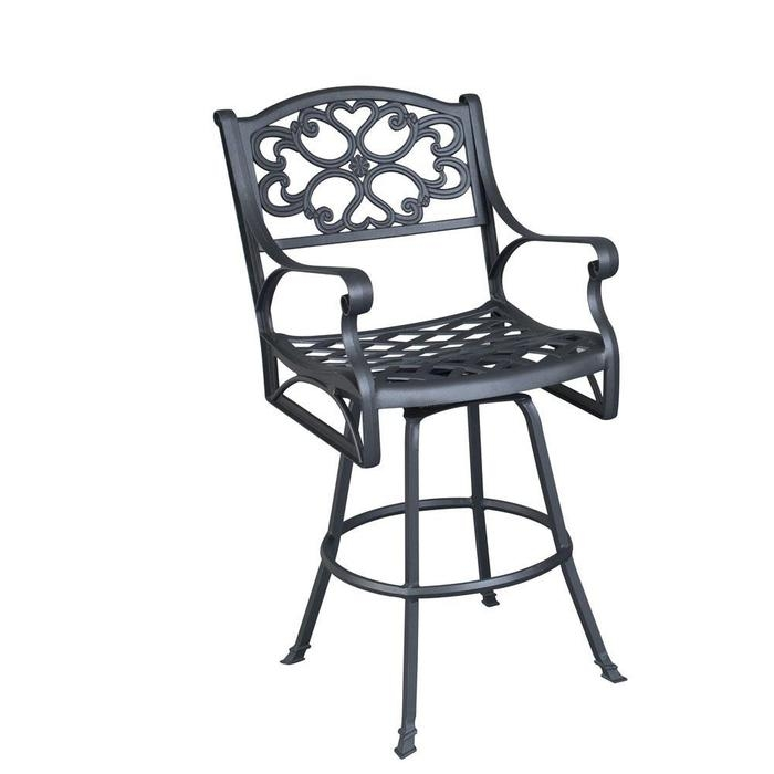 Biscayne Swivel Outdoor Metal Bar Stools At Brookstonebuy Now throughout Outdoor Metal Bar Stools